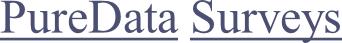 PureData Product Surveys