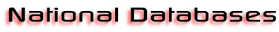 National Databases